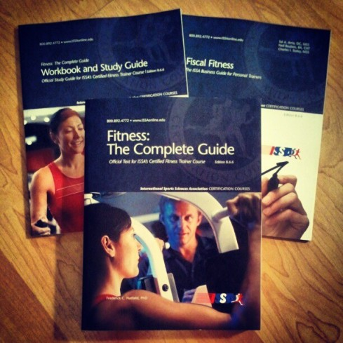 Time to start studying for my personal training re-certification!